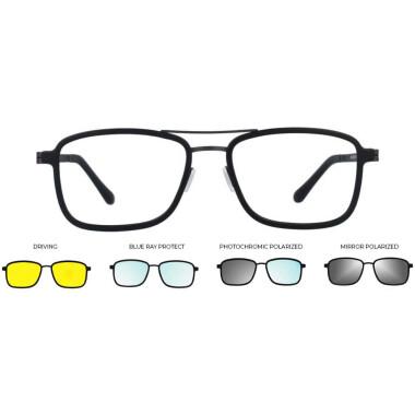 Imagem dos óculos ULTEM268 C02M 5418